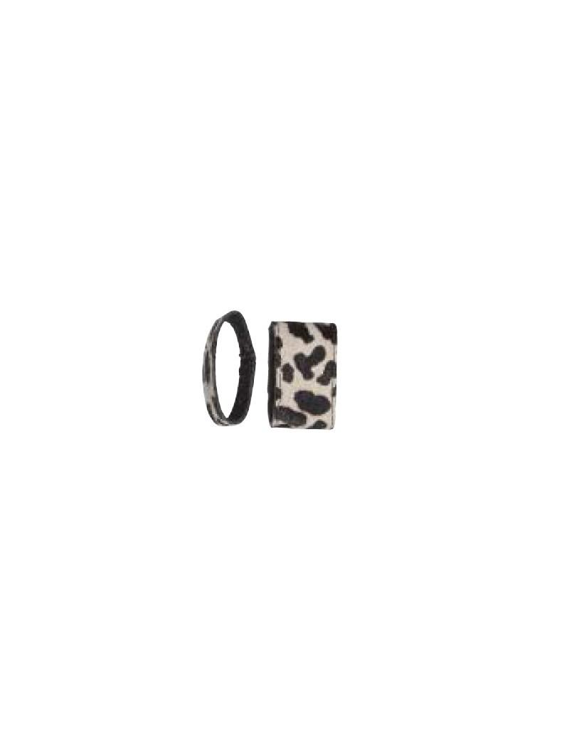 Luipaard servetring (set van 6)