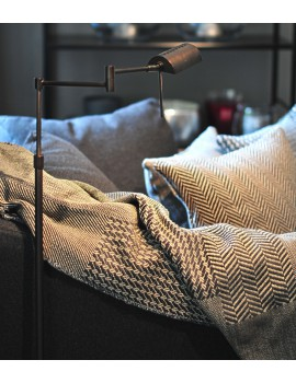 Plaid Patchwork with fringes Scapa Home