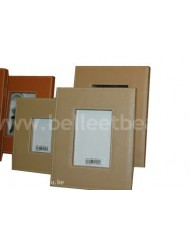 Leather photoframe