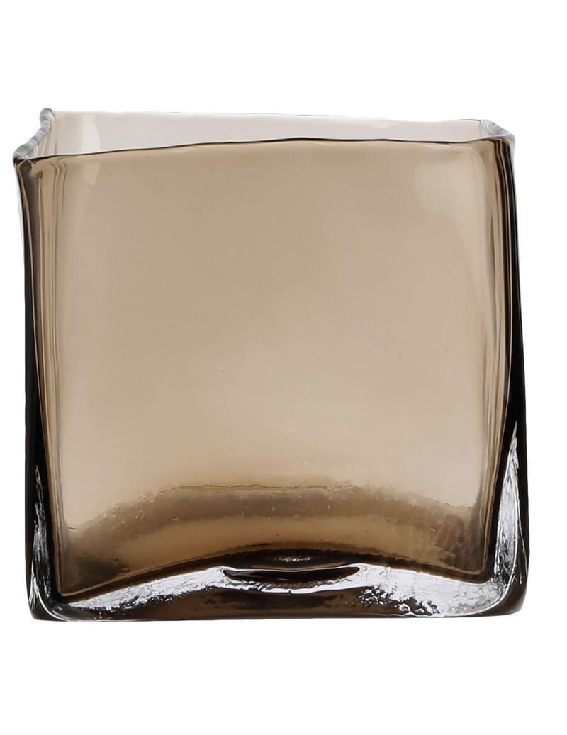 Vison glass Scapa Home square Vase 15x15x15cm