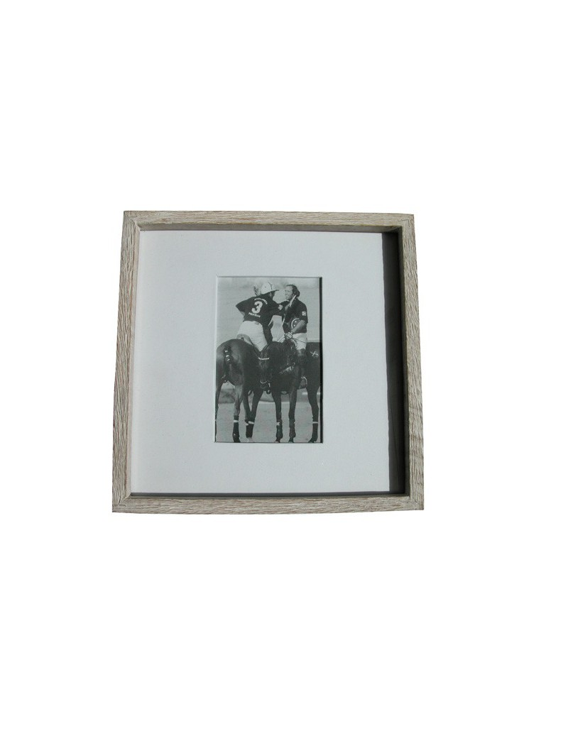 Photoframe wood drift 27x27cm