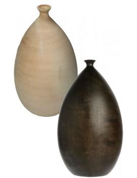 Vase en bois de scapa home - Vase en bois ...