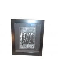 Frame black/white Asparagus