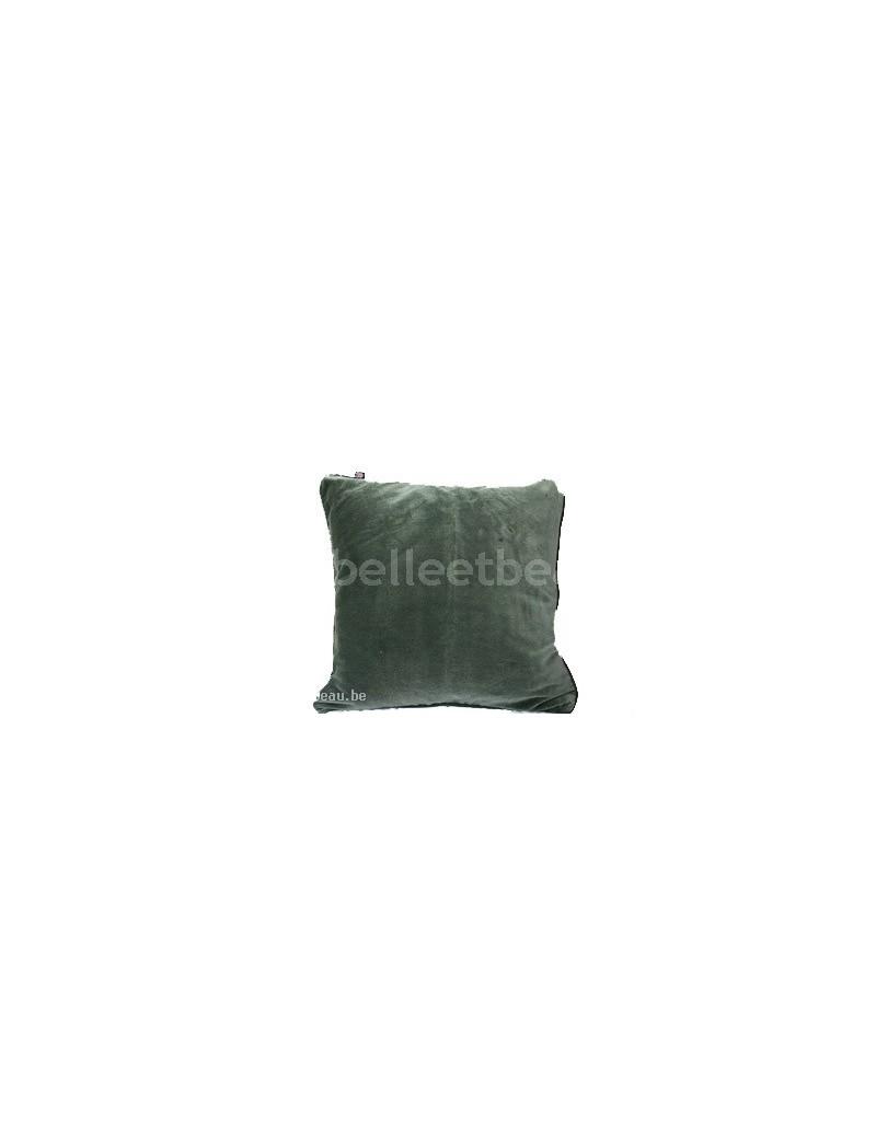 Kussenovertrek groen fluweel Gant