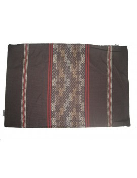 Kussenovertrek Inca bruin 50x75