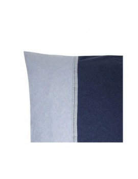 Deckbettbezug 'Sweet Jersey' 2 Personen - blau