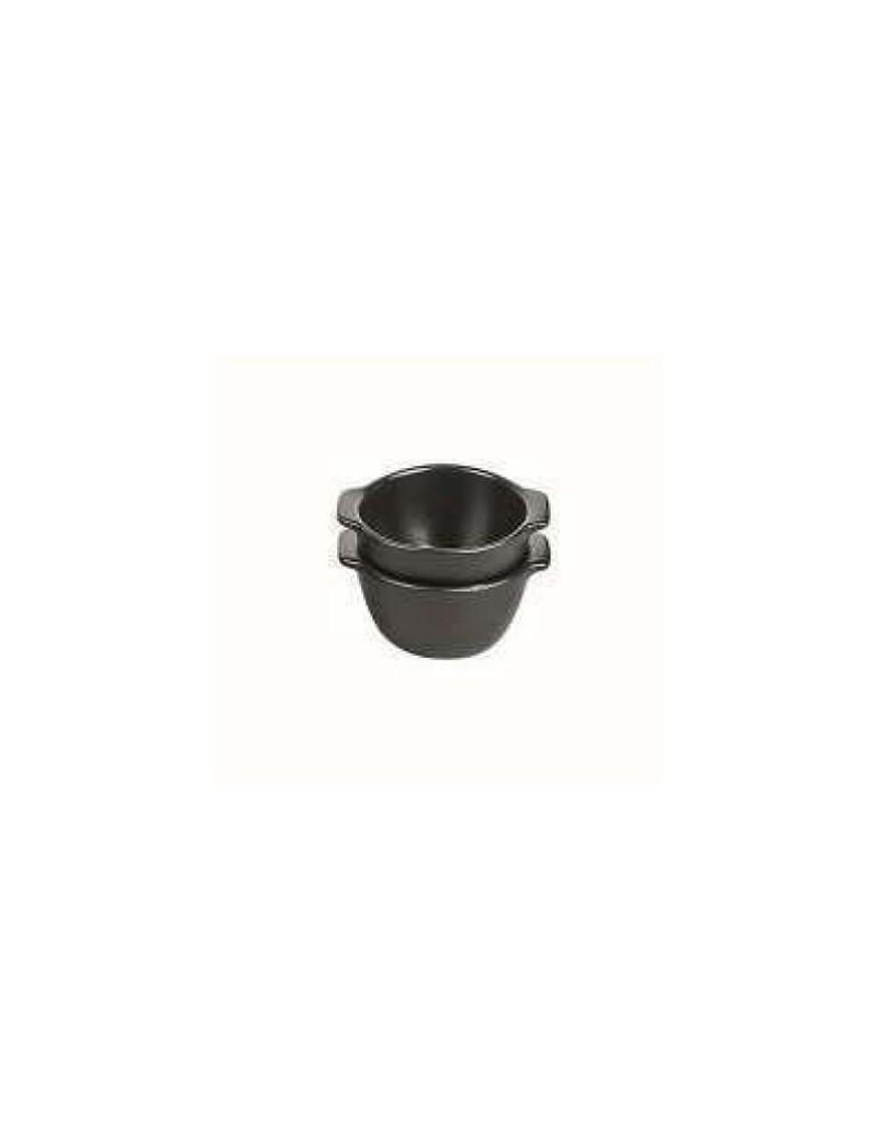 Round mini Oven Dish black