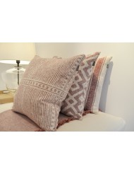 Set of 3 cushions 'Mello' - pink
