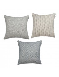 Set of 3 cushions 'Mello' - blue