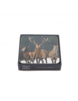 Coaster pack of deer
