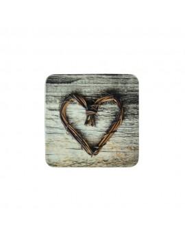 Coaster Heart Twig