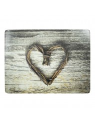 Placemat Heart twig