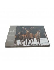 Placemat Pack of deer