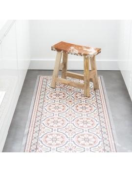 Deco mat tegels bruin 75x180