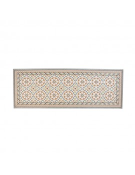 Deco mat tiles brown 75x180