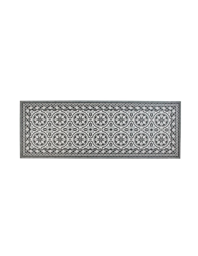 Deco mat tiles grey 75x180