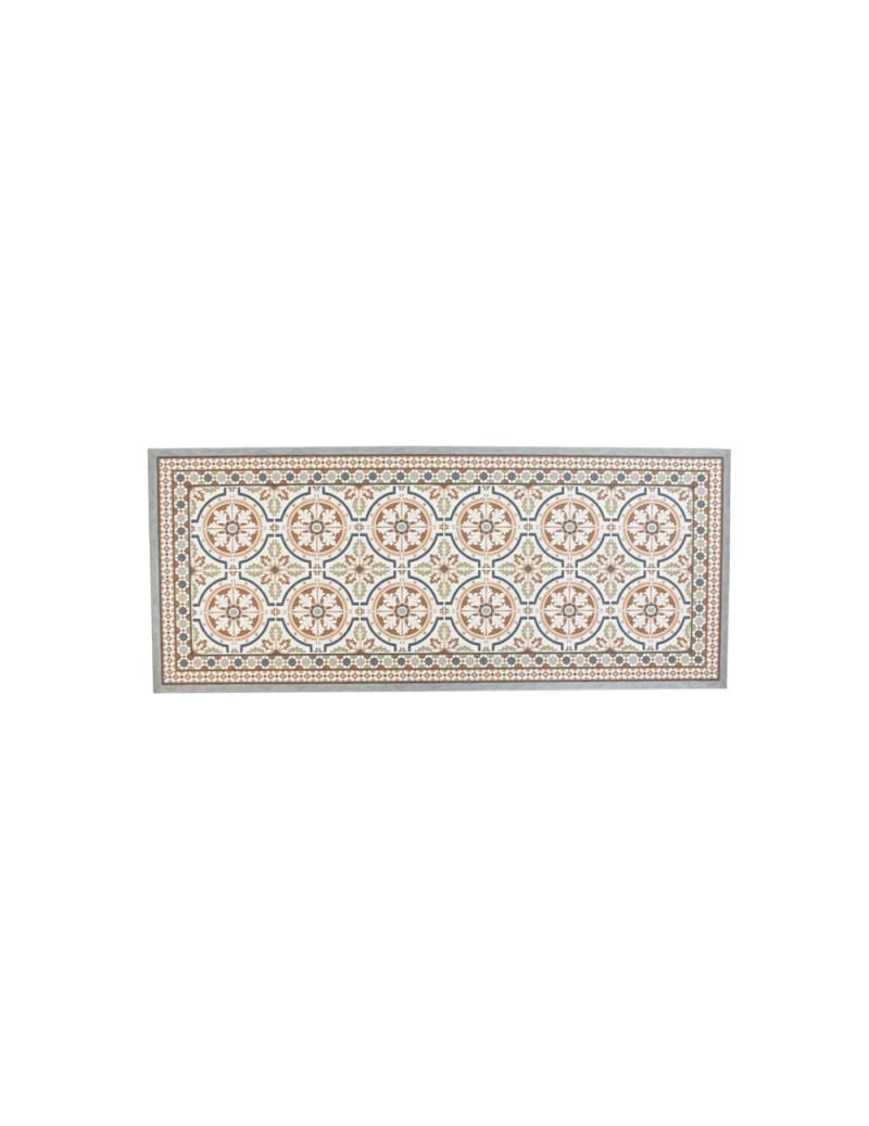 Deco mat tegels bruin 50x120