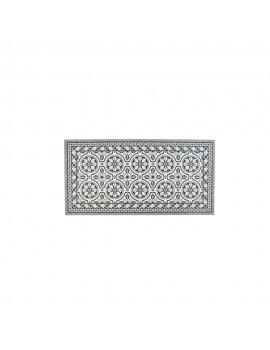 Deco mat tegels grijs 50x100