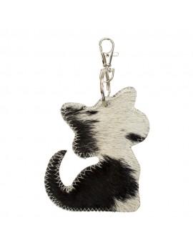Key chain black cat
