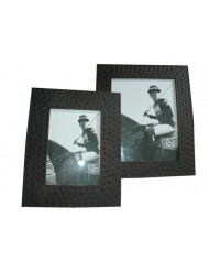 Wooden photoframe dots