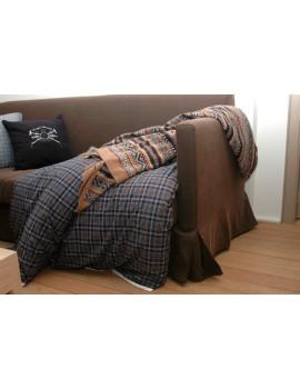 Knitted cushion Chamonix
