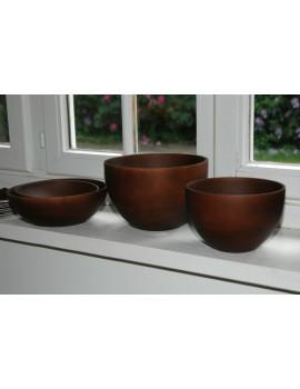 Mango wood bowl