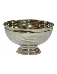 Prachtige Champagne bowl groot