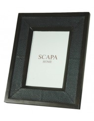 Leather photoframe Shagreen small