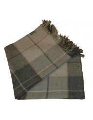 Plaid York Checks grijs Scapa Home