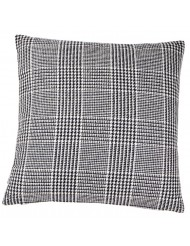 Grey leather cushion of Scapa Home